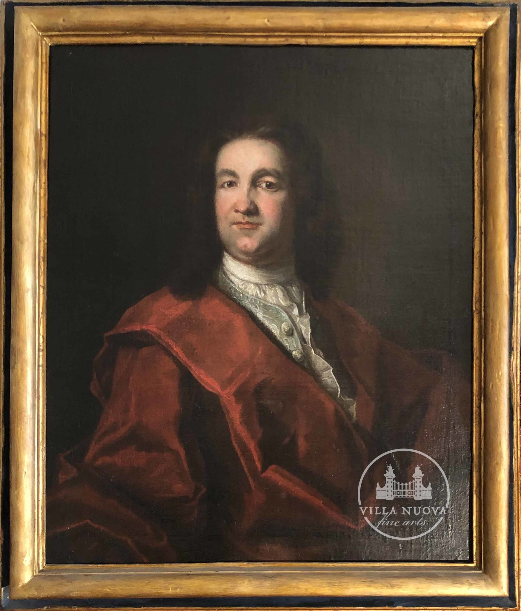 Giovanni Maria DALLE PIANE (1660-1745) school, Portrait of a Man in red