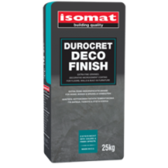Декоративный микроцемент ISOMAT, Durocret-Deco Finish