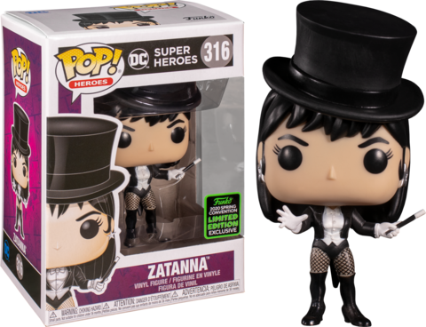 Фигурка Funko Pop! Heroes: Zatanna (Excl. to Emerald City Comic Con)