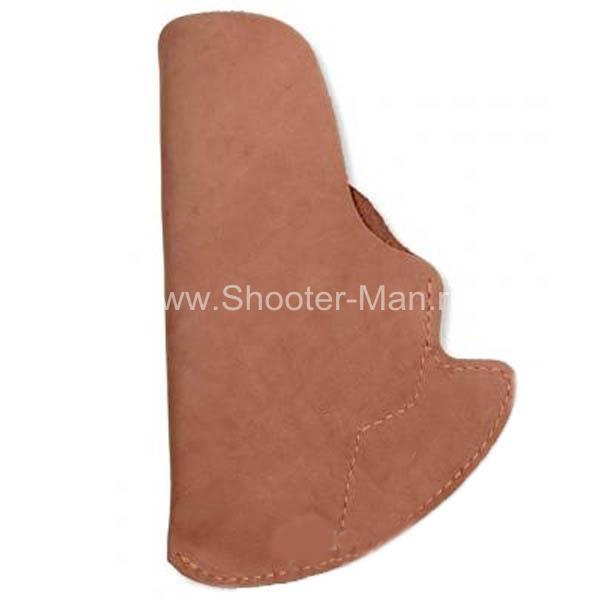 Кобура скрытого ношения для пистолета Глок 17, поясная ( модель № 14 )