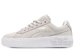 Кеды Женские Basket Platform Reset Lt Grey White
