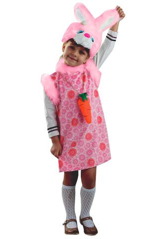 Зайка Липси розовая (плюш)
