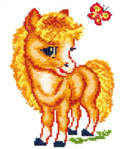 18-02 Весёлая лошадка