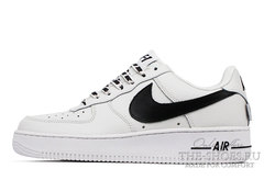 Кроссовки Nike Air Force 1 NBA White Black