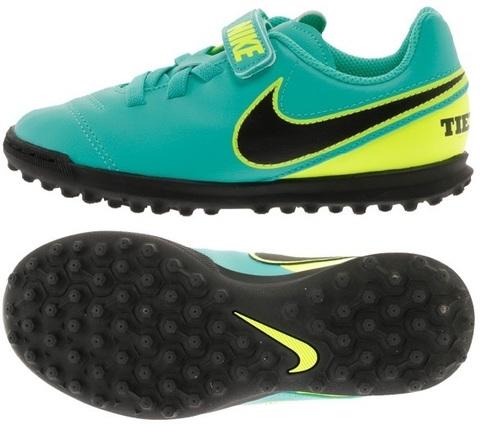 Сороконожки детские Nike Tiempo Rio III (V) TF Junior 819194-307