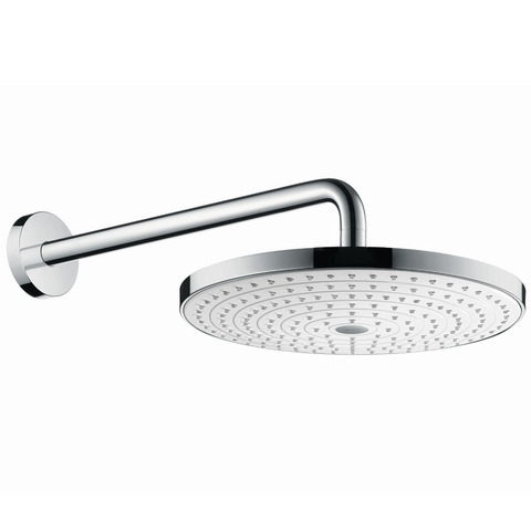 Верхний душ Hansgrohe Raindance Select S 300 2jet 27378400, белый/хром