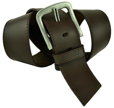 Мужской кожаный широкий ремень 50millen-005