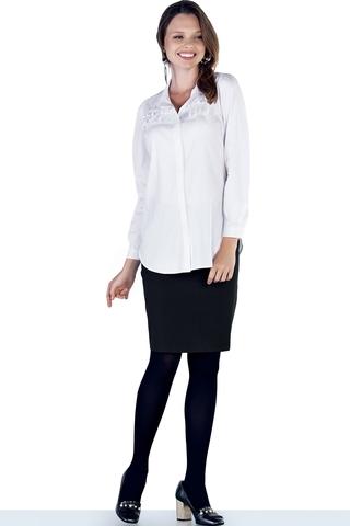 Блузка для беременных 09849 белый
