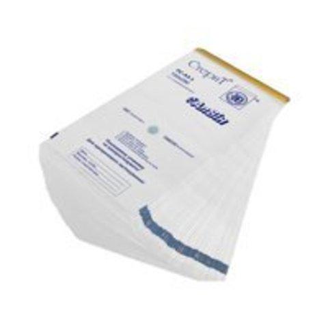 Крафт-пакеты белые 90*230 мм с индикатором (100 шт)