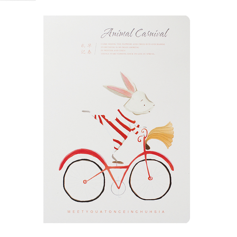 Скетчбук Animal Carnival Rabbit
