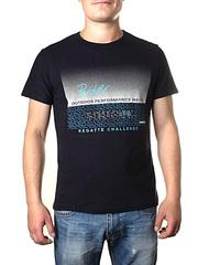 17613-3 футболка мужская, черная