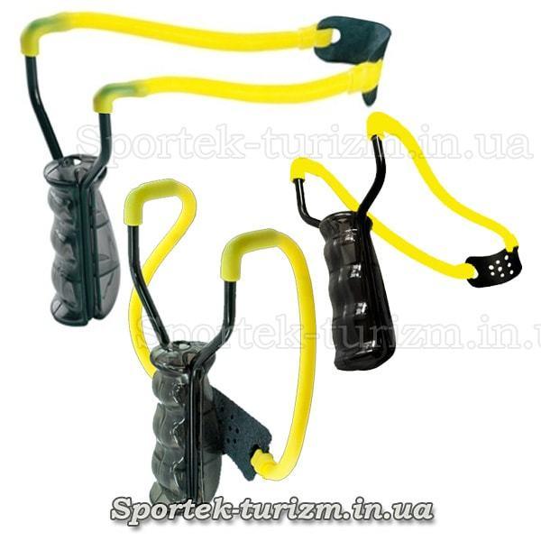 Рогатка Man Kung MK-T9 (черно-желтая)