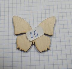 Вырубка из дерева (фанера) 3-4 мм, 1 шт.