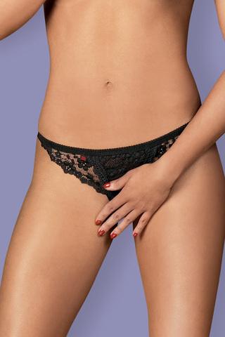 Трусы Letica Crotchless Thong Obsessive