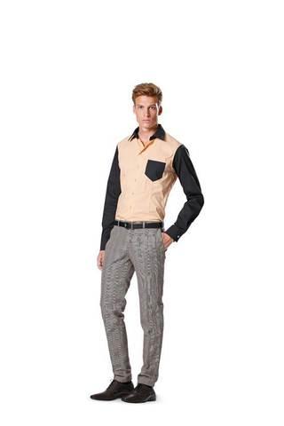 Выкройка Burda (Бурда) 6933 — Мужские брюки
