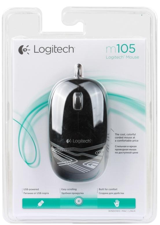LOGITECH M105 USB Black