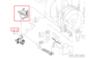 Электродвигатель (мотор) для стиральной машины Whirlpool (Вирпул) 481236158358