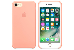 Apple iPhone 7/8 Чехол Silicon Case (Розовый)