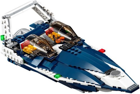 LEGO Creator: Синий реактивный самолет 31039 — Blue Power Jet — Лего Креатор