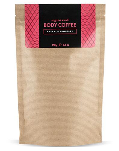 Аргановый кофейный скраб