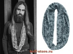 Модный шарф-труба Buff Studio Vintage Comic Grey Gargoyle