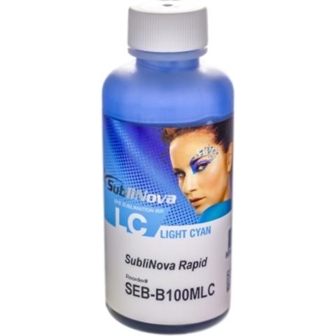 Чернила сублимационные InkTec Rapid SEB-B100MLC light cyan (светло-голубые) 100 мл