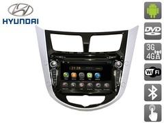 Штатное головное устройство для Hyundai Solaris AVIS Electronics AVS070AN (#258) на Android