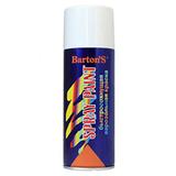 Краска аэрозольная Barton's Spray Paint БЕЛАЯ глянец RAL9003 520 мл (16шт/кор)