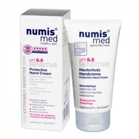 НУМИС МЕД Защитный крем для рук «СЕНСИТИВ рН 5,5», 75 мл