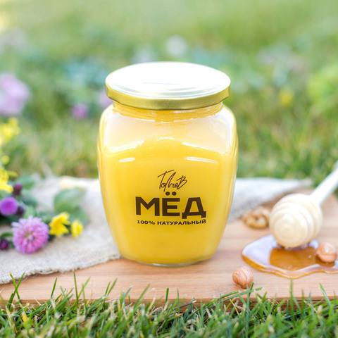 Цветочный мёд середины лета 1 кг