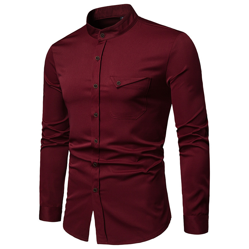 мужские рубашки Мужская рубашка Slim Fit 10178581190_289076766.jpg