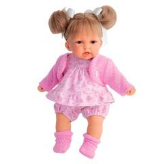 Munecas Antonio Juan Озвученая кукла Рита, блондинка, 27 см (1230P)