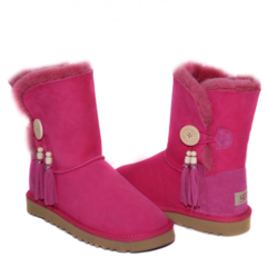 UGG Bailey Button Charms Rose