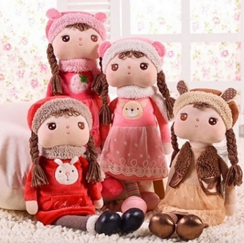 Soft Doll Dresses In Warm Little 60см