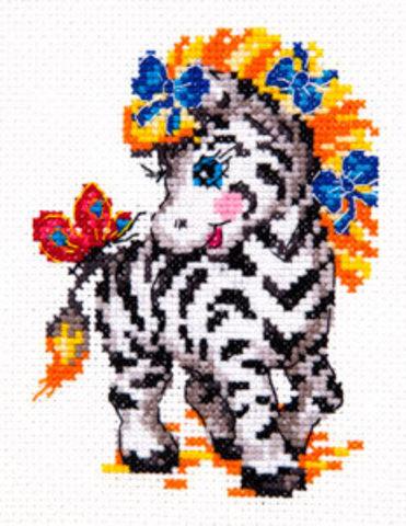 18-54 Малышка зебра