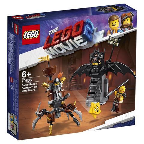 LEGO Movie: Боевой Бэтмен и Железная борода 70836 — Battle-Ready Batman and MetalBeard — Лего Муви Фильм