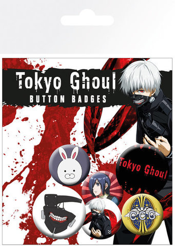 Набор значков Tokyo Ghoul
