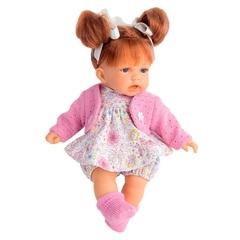 Munecas Antonio Juan Озвученая кукла Рита, брюнетка, 27 см (1230B)