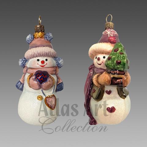 Набор «Снежная пара»