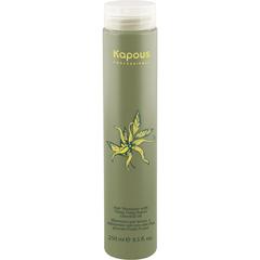 KAPOUS шампунь для волос с эфир. маслом иланг-иланг 250мл.