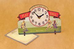 Часы настольные Timeworks Baseball POTBPB