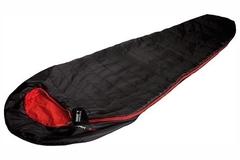 Спальный мешок High Peak Pak 600 черный/красный