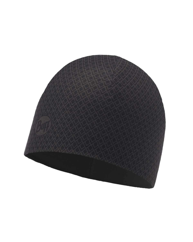 Тонкая шапка с флисовой подкладкой Buff Hat Polar Microfiber Drake Black