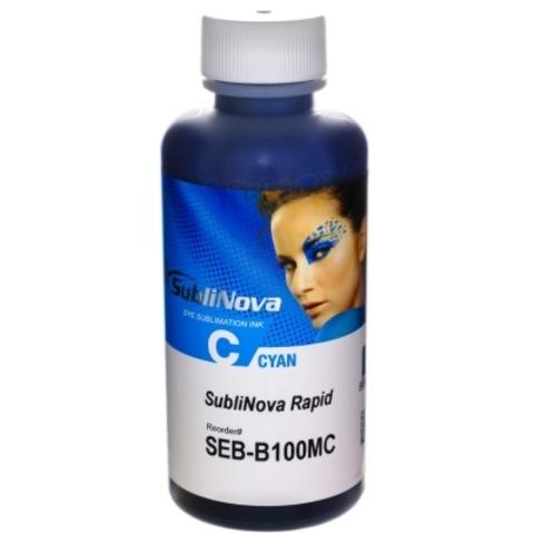 Чернила сублимационные InkTec Rapid SEB-B100MC cyan (голубые) 100 мл