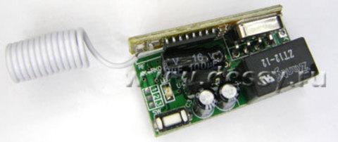 Миниатюрная одноканальная система дистанционного включения RC-1-12-MINI