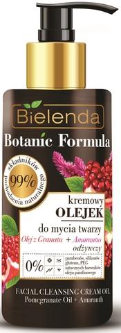 BOTANIC FORMULA Кремовое масло для умывания ГРАНАТА + АМАРАНТУС, 140 мл