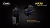 Купить Налобный светодиодный фонарь Fenix HP30, серый, 900 люмен (модель 34009) по доступной цене