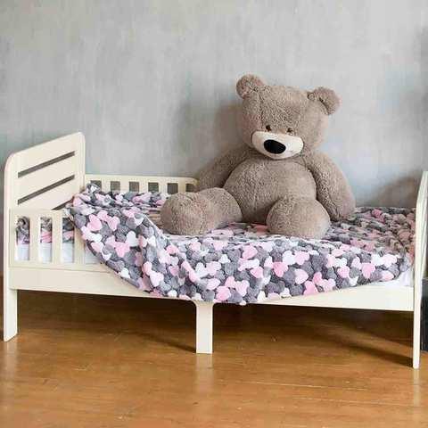 Кровать подростковая Феалта-baby Охта, слоновая кость