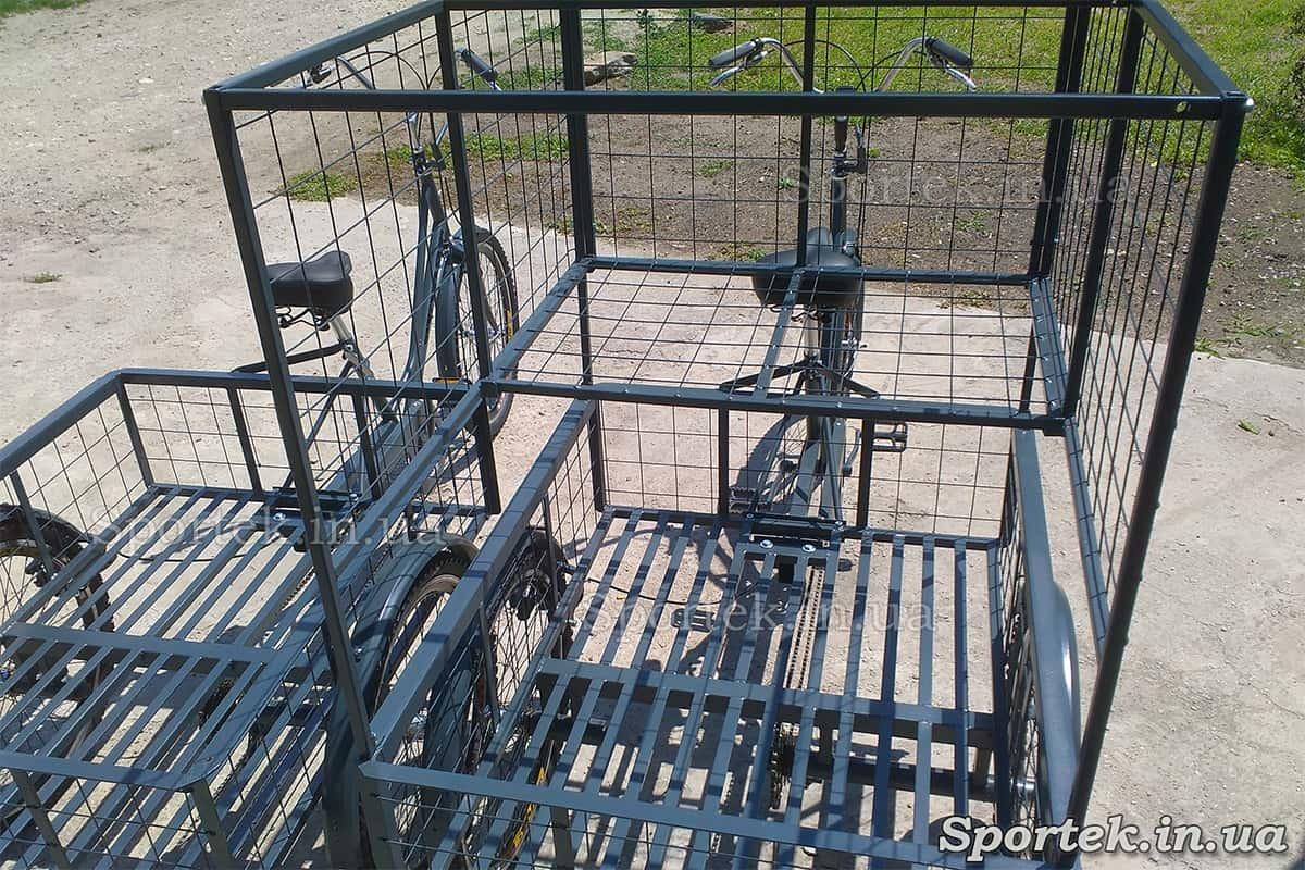 Грузовые платформы трехколесного велосипеда 'Марсель'