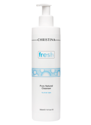 Натуральный очищающий гель для всех типов кожи Christina FRESH PURE & NATURAL CLEANSER, 300мл